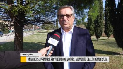 """Minardi su primarie pd """"Andiamo a votare, momento di alta democrazia"""" – VIDEO"""