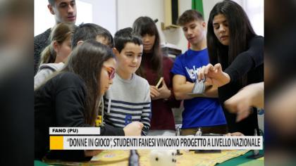 """""""Donne in gioco"""", studenti fanesi vincono progetto a livello nazionale – VIDEO"""