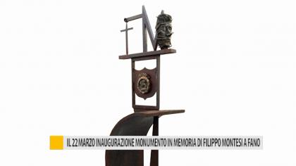 Il 22 marzo inaugurazione monumento in memoria di Filippo Montesi a Fano – VIDEO