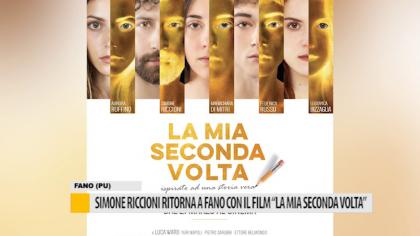 """Simone Riccioni ritorna a Fano con il film """"La mia seconda volta"""" – VIDEO"""