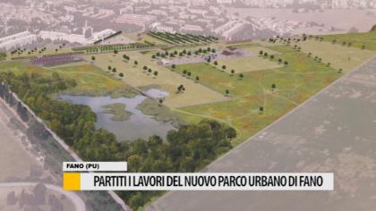 Partiti i lavori del nuovo parco urbano di Fano – VIDEO