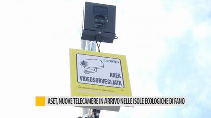 Aset, nuove telecamere in arrivo nelle isole ecologiche di Fano – VIDEO