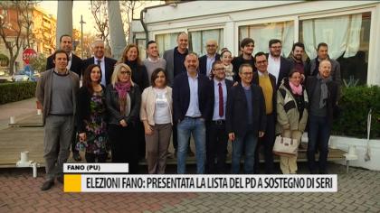 Elezioni Fano: presentata la lista del PD a sostegno di Seri – VIDEO
