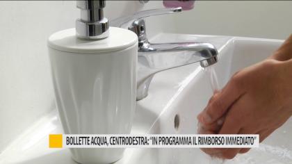 """Bollette acqua, centrodestra: """"In programma il rimborso immediato"""" – VIDEO"""