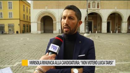 """Mirisola rinuncia alla candidatura: """"non voterò Lucia Tarsi"""" – VIDEO"""