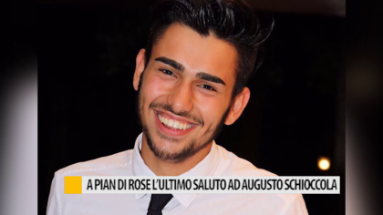 A Pian di Rose l'ultimo saluto ad Augusto Schioccola – VIDEO