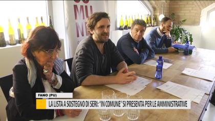 """Liste a sostegno di Seri: """"IN COMUNE"""" si presenta per le amministrative – VIDEO"""