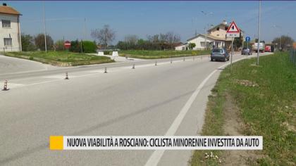 Nuova viabilità a Rosciano: ciclista minorenne investita da auto – VIDEO