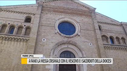 A Fano la messa crismale con il vescovo e i sacerdoti della diocesi – VIDEO