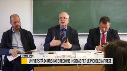 Università di Urbino e regione insieme per le piccole imprese – VIDEO