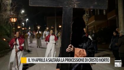 Il 19 aprile a Saltara la processione di Cristo morto – VIDEO