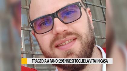 Tragedia a Fano: 29enne si toglie la vita in casa – VIDEO