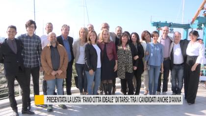 """Presentata la lista """"Fano città ideale"""" di Tarsi: tra i candidati anche d'Anna – VIDEO"""