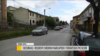 Cuccurano, i residenti chiedono marciapiedi e fermate bus più sicure – VIDEO