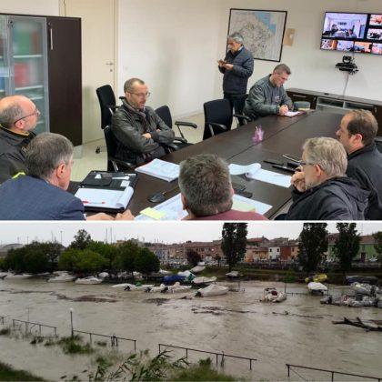 """Maltempo Pesaro, Ricci: """"La situazione è critica ma per il momento sotto controllo"""""""