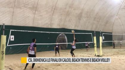 CSI, domenica le finali di calcio, beach tennis e beach volley – VIDEO