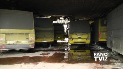 Colli al Metauro: incendio al deposito degli scuolabus, servizio sospeso – VIDEO