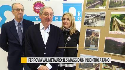 Ferrovia Val Metauro: il 5 maggio un incontro a Fano – VIDEO