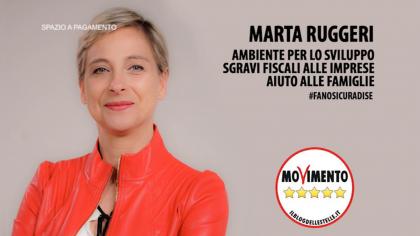 Marta Ruggeri #fanosicuradise – Ambiente per lo sviluppo e sgravi fiscali alle imprese