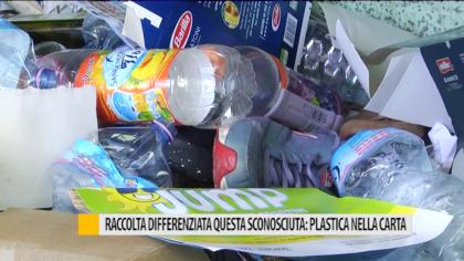 Raccolta differenziata sconosciuta: plastica nella carta – VIDEO