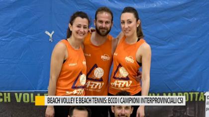 Beach volley e beach tennis: ecco i campioni interprovinciali CSI – VIDEO