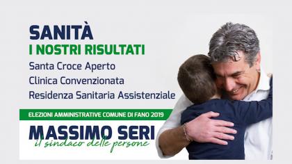 Massimo Seri – Sanità, i nostri risultati