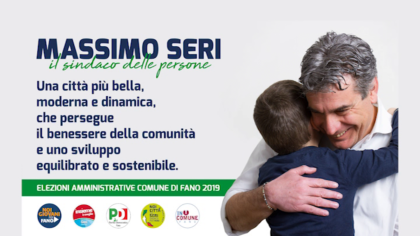 Massimo Seri – Una città più bella, moderna e dinamica (15 maggio 2019)