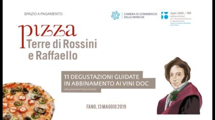Pizza Terre di Rossini e Raffaello (13 maggio 2019)