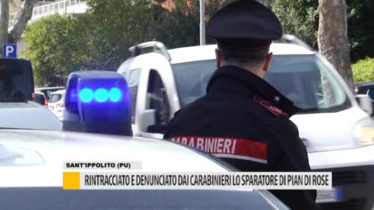Rintracciato e denunciato dai carabinieri lo sparatore di Pian di Rose – VIDEO