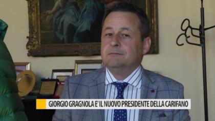 Giorgio Gragnola è il nuovo presidente della Carifano – VIDEO