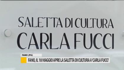 """Fano, il 18 maggio apre la saletta di cultura a """"Carla Fucci"""" – VIDEO"""