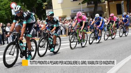 Tutto pronto a Pesaro per accogliere il Giro d'Italia, viabilità ed iniziative – VIDEO