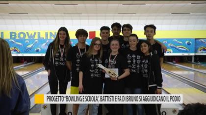 """Progetto """"Bowling e Scuola"""", Battisti e Faa di Bruno si aggiudicano il podio – VIDEO"""