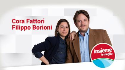 """""""INSIEME E' MEGLIO"""" Cora Fattori e Filippo Borioni"""