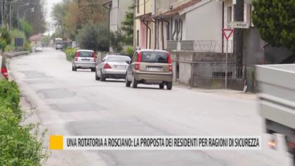 Una rotatoria a Rosciano: la proposta dei residenti per ragioni di sicurezza – VIDEO