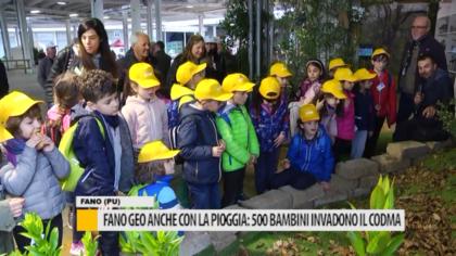 Fano Geo anche con la pioggia: 500 bambini invadono il codma – VIDEO