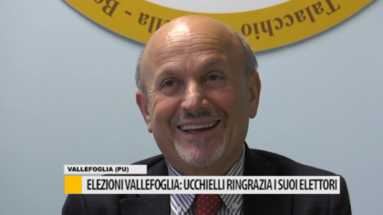 Elezioni Vallefoglia: Ucchielli ringrazia i suoi elettori – VIDEO