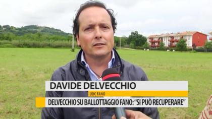 """Delvecchio su ballottaggio Fano: """"Si può recuperare"""" – VIDEO"""