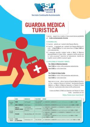 Sanità: Guardia Medica Turistica 2019