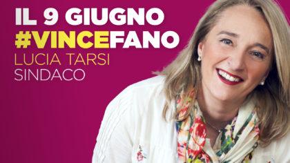 Il 9 giugno #vincefano – Lucia Tarsi Sindaco