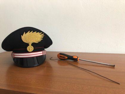 Topo d'auto extracomunitario, arrestato dai Carabinieri di Urbino