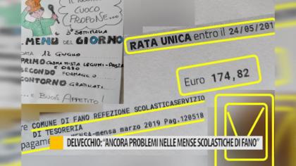 """Delvecchio: """"Ancora problemi nelle mense scolastiche fanesi"""" – VIDEO"""