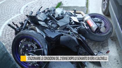 Sono stazionarie le condizioni di salute del 21enne coinvolto in un incidente a Calcinelli
