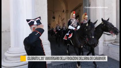 Celebrato il 205° anniversario della fondazione dell'Arma dei Carabinieri – VIDEO