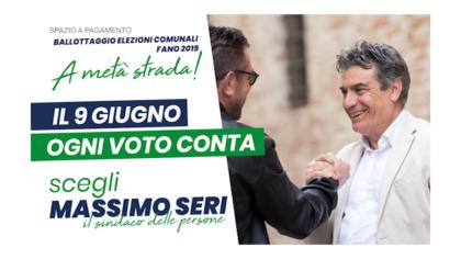 Massimo Seri – il 9 giugno ogni voto conta