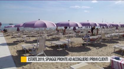 Estate 2019, spiagge pronte ad accogliere i primi clienti – VIDEO