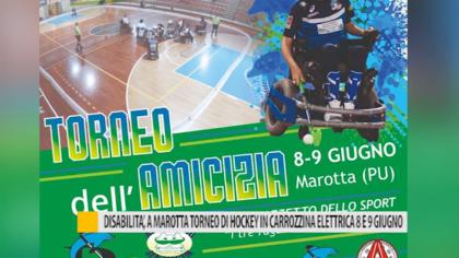 Disabilità, a Marotta torneo di Hockey in carrozzina elettrica 8 e 9 giugno – VIDEO