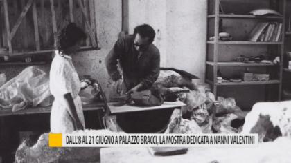 Dall'8 al 21 giugno a Palazzo Bracci, la mostra dedicata a Nanni Valentini – VIDEO