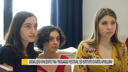 Sodalizio vincente tra Passaggi Festival ed istituto d'arte Apolloni – VIDEO