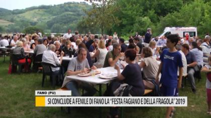 """Si conclude a Fenile di Fano la """"Festa del fagiano e della fragola"""" 2019 – VIDEO"""